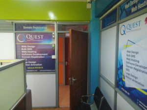 Quest Website Developers Ltd Customer Lobby