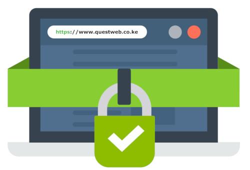 Secure domain name registration