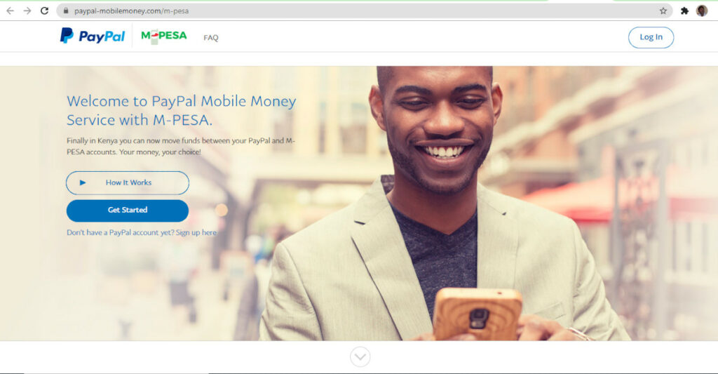 How to link your Paypal to Mpesa getting started.