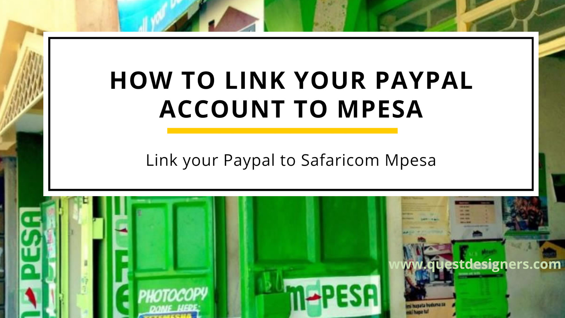 Paypal to Mpesa: How to link Mpesa to PayPal